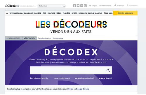 Le Monde-Decodex
