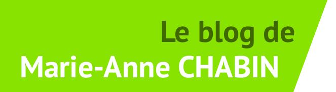 Le blog de Marie-Anne Chabin